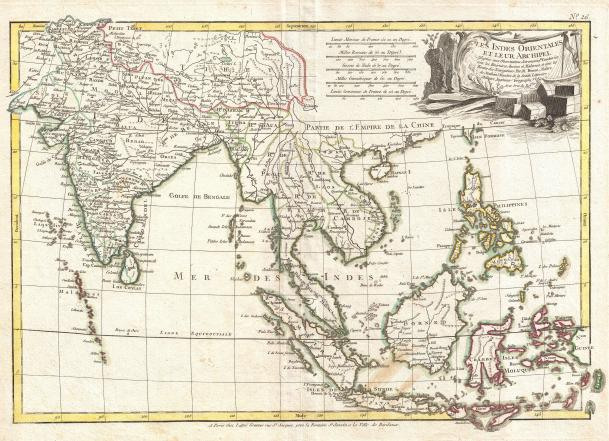 1770_Bonne_Map_of_India,_Southeast_Asia_^_The_East_Indies_(Thailand,_Borneo,_Singapore)_-_Geographicus_-_SoutheastAsia-bonne-1770